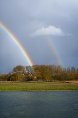 Untitled_09 (javier bilbao) Tags: arcoiris country campo doublerainbow raibow doblearcoiris