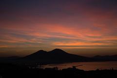 Naples-4532 (sally henny penny) Tags: silhouette sunrise volcano mountvesuvius backlit naplesitaly 24105mmf4lisusm canon6d napoliitalia ilvesuvio lightroom5 naples2013