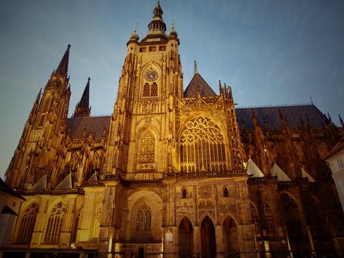 Cathédrale, Prague, République Tchèque