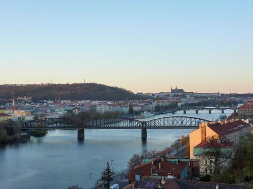 La Vltava, Prague, République Tchèque