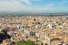 Granada. Spain. 2013. (Sasha_mac) Tags: city trees sky people house mountains clouds nikon horizon 18105      d90