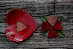 Art de tot cor (Anastssia) Tags: red ceramic heart coeur mallorca cor corazon art laccentnou