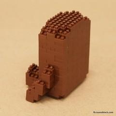 nanoblock Domokun Build Instructions (inanoblock) Tags: toy bricks domo blocks domokun instruction nhk buildingblocks kawada nanoblock  nanoblocks