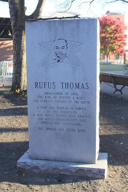 Rufus Thomas Memorial - Beale Street