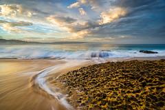 Portugal: Flow Motion (Simone Angelucci) Tags: portugal sunrise portogallo nazar d600