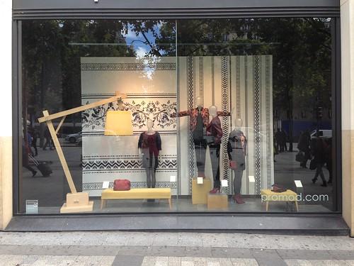 Vitrine Promod - Paris, septembre 2013
