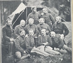4' Divisions Stab. (Rigsarkivet - Danish National Archives) Tags: war battle officers 1864 krig soldater menig officerer underofficererer deutschdänischekrieg zweiterschleswigscherkrieg zweiterschleswigholsteinischerkrieg