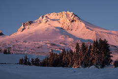 Mt. Hood (Curtis Gregory Perry) Tags: winter sunset mountain snow oregon nikon lodge mthood mounthood timberline d800e