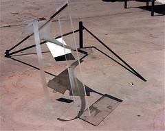L'imitateur  230x130x130cm (emmanuelviard75) Tags: nylon acier plexy