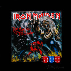 """Woe to You.... (Nigel Jones LRPS) Tags: dice 666 beast eddie six ironmaiden revelation"