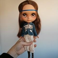 One of my Christmas presents, a custom by Alejandra!!!