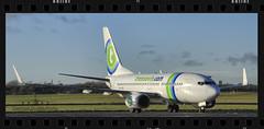 PH-XRD (EI-AMD Aviation Photography) Tags: ireland dublin airport aircraft aviation boeing airlines dub transavia 737 eidw phxrd