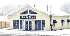 Excellent advice!! (Carolyn Lehrke) Tags: winter snow storm cold nature wet wv blizzard homeandhearth greenbriercounty