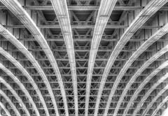 Blackfriars Rail Bridge Underbelly (ArtGordon1) Tags: uk bridge england london thames rivets blackfriars riverthames girders steelwork blackfriarsrailbridge davegordon davidgordon bridgespan bridgearch artgordon1 daveartgordon daveagordon davidagordon
