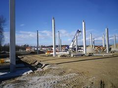 Baufortschritt Baywa Trt. (bratispixl) Tags: oberbayern neubau einkaufszentrum chiemgau traunreut grnewiese baywa bratispixl