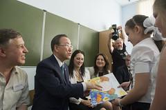 Every Drop Matters: UN Chief Ban Ki-moon & Black Sea Box (UNDP in Europe and Central Asia) Tags: cocacola blacksea sochi russianfederation unsecretarygeneralbankimoon everydropmatters blackseabox