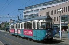 HSB 218  Heidelberg  18.07.99 (w. + h. brutzer) Tags: analog germany deutschland nikon tram heidelberg tramway strassenbahn streetcars webru