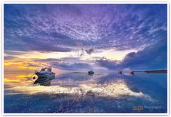 Calm Morning @ Nusa Dua, Bali (Vin PSK) Tags: morning bali seascape reflection sunrise indonesia landscape calm nusadua