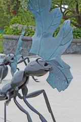 01 DEC 13 21°C AUCKLAND SCULPTURE IN THE GARDENS (Melbourne.Dream.Factory) Tags: newzealand art auckland northisland aucklandbotanicalgardens sculptureinthegardens