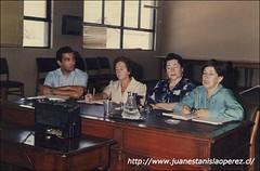 Mesa Redonda con Gabriela Pizarro, Margot Loyola y Raquel Barros.