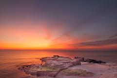 Amanecer en Mlaga (quinoal) Tags: sea beach sunrise mar playa amanecer mlaga 0606 playadelamisericordia quinoal mygearandme mygearandmepremium amanecerenmlaga