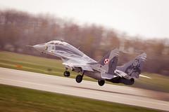 MiG-29 (Smokeon! Aviation Photo Crew) Tags: airshow minsk spotting militaryaviation 2014 spotter mazowiecki lotnicze pokazy epmm