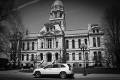 Kosciusko County Courthouse (Lake Effect) Tags: county bw project indiana utata courthouse vignetting kosciusko ironphotographer utata:project=ip194 ip194