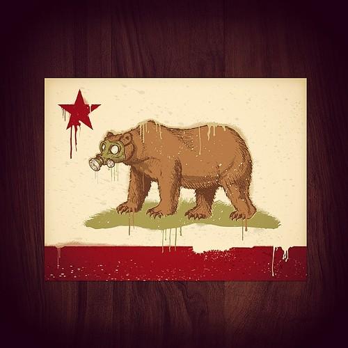 Update To The Cali Flag California Califlag Bear