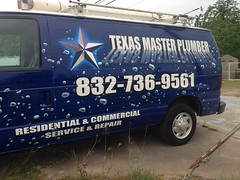 "Texas Master Plumber- Driver Side <a style=""margin-left:10px; font-size:0.8em;"" href=""http://www.flickr.com/photos/69723857@N07/14178902864/"" target=""_blank"">@flickr</a>"