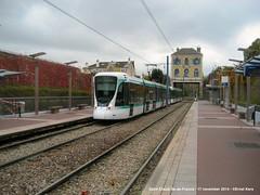 Les Coteaux (ernstkers) Tags: station trolley tram lightrail streetcar ratp t2 tranvia elctrico tramvia citadis strasenbahn