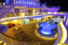 Dream Time (AtDisneyAgain) Tags: longexposure cruise pool wideangle disney cruiseship disneycruiseline disneydream
