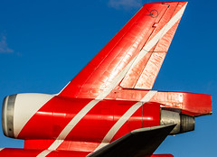 "The very recognizable tail of a MD-11 • <a style=""font-size:0.8em;"" href=""http://www.flickr.com/photos/125767964@N08/16251829989/"" target=""_blank"">View on Flickr</a>"