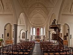Ath - Église Saint-Martin (Grotevriendelijkereus) Tags: church belgium belgique interior gothic église gothique ath classicism walloon hainaut wallonia wallonne