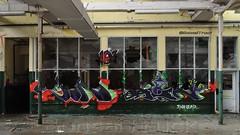 Kunst in der ehemaligen Spinnerei Rolinck in Burgsteinfurt (BonsaiTruck) Tags: streetart lost artwork factory kunst fabrik places orte airbrush steinfurt grafitty fabrique westfalen spinnerei rolinck burgsteinfurt spraydose spraydosen strasenkunst lackkunst verschwundene