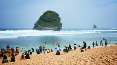 Summer Time (jipan) Tags: sea seascape beach nature indonesia landscape seaside malang orton