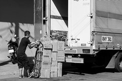 (RM Ampongan) Tags: boy truck big lift market box cargo goods boxes bundle logistics