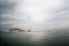 (Benedetta Falugi) Tags: blue sea summer sky film water analog swimming 35mm grey ishootfilm shootingfilm istillshootfilm asummer beliveinfilm benedetafalugi