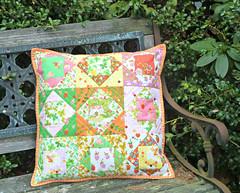Briar Rose Economy Block Pillow (alidiza) Tags: heatherross