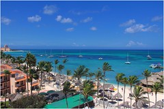 Aruba (hashtagclicks) Tags: travel vacation bw colors canon tag aruba hash hashtag