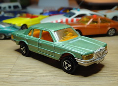 Majorette 249 Mercedes 450 1978-1985 (mustonen.matias) Tags: car toy model 200 series majorette diecast
