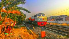 Melaju terus kedepan  Cc203**** #Railfans (alvinnugraha206) Tags: railfans