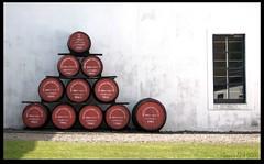 Distillery Barrels (zweiblumen) Tags: uk scotland alba barrels whisky distillery isleofarran hdr kegs lochranza polariser northayrshire eileanarainn canoneos50d zweiblumen lochraonasa