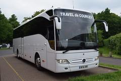 Mike de Courcey Travel Ltd Merceds Benz Tourismo Coach BF16 XRR (5asideHero) Tags: travel mike de mercedes benz ltd tourismo xrr courcey bf16