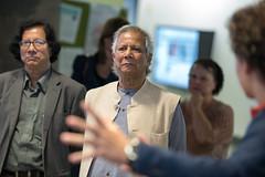 Muhammad Yunus Visit (57 of 92) (calit2) Tags: june demo san diego visit speaker commencement visualization muhammad ucsd yunus calit2 2016 ucsandiego muhammadyunus qualcomminstitute