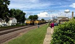 What The......... (jimt31) Tags: railroad trains unionpacific railfans rochellerailroadpark