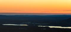 Auringonlasku Vuokatin vaaralta kuvattuna (Jesseasd) Tags: maisema jrvi auringonlasku hugin panoraama sigma70200mmf28 vuokatinvaara nikond7100