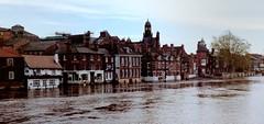 The Flood (Hylda_H) Tags: england water flood essex rainfall harwich
