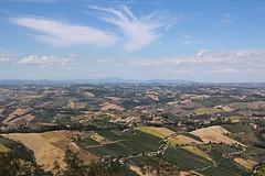 Panorama da Ripatransone - Panoramic view from Ripatransone (Bluesky71) Tags: panorama landscape hills marche colline ripatransone bellitalia
