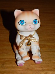 Zuzu Animal Delf Nyang Box Opening (aly.the.luvly) Tags: animal cat ginger bjd luts delf zuzu nyang