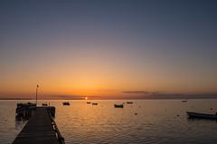 Dock at Sunset (Infomastern) Tags: sunset sea sky water boat dock himmel vatten bt hav hllviken solnedgng brygga geolocation fiskehoddorna geocity camera:make=canon exif:make=canon geocountry exif:focallength=18mm geostate exif:lens=efs18200mmf3556is exif:aperture=80 exif:isospeed=100 camera:model=canoneos760d exif:model=canoneos760d